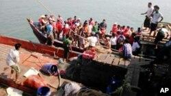 Preživeli brodoloma u Mjanmaru