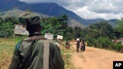 Patrouille des FARDC au Kivu
