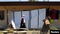 شهروندان لیبی که خانه های خود را بر اثر درگیری ها ترک کرده اند - آرشیو