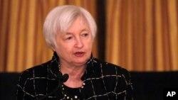 Giám đốc Cục Dữ Trữ Liên Bang (Mỹ), bà Janet Yellen, 3/3/2017.