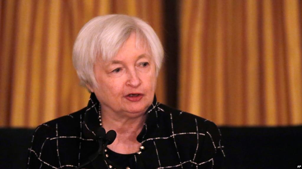 Giám đốc Cục Dữ Trữ Liên Bang Hoa Kỳ (FED), bà Janet Yellen, ngày 3/3/2017.