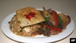 秘鲁炒牛肉
