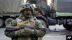 Proruski pobunjenik u Ukrajini