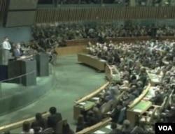 联合国大会本周在纽约登场(美国之音视频截图)