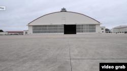 位於德克薩斯州的一個軍事基地為從武漢回來的美國人提供的住宿設施