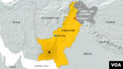 Pakistan earthquake, September 24, 2013