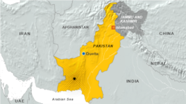Pakistan earthquake, September 24, 2013
