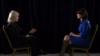 La colaboradora de la VOA, Greta Van Susteren, izquierda, entrevista a la Embajadora de EE.UU. ante la ONU, Nikki Haley, en Nueva York. Enero 17, de 2018.
