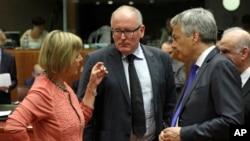Evropski ministri inostranih poslova se juče okupili u Briselu