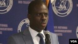 Jean Marie Altema, Direktè Jeneral Konsèy Nasyonal Telekominikasyon (CONATEL) ann Ayiti.