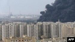 Suriye'de Petrol Boru Hattında Patlama