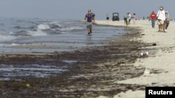 The largest oil spill in the history of the U.S. struck the same residents whose lives had been destroyed by Hurricane Katrina several years earlier. It's been one tough break after another for them.
