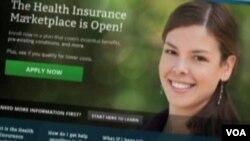 Trang web bảo hiểm sức khỏe HealthCare.gov