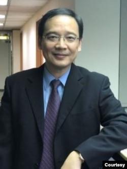 位於台北的台灣經濟研究院研究員邱達生(照片提供:邱達生)