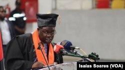 Samuel Carlos Vitorino, Reitor da Faculdade de Medicina da Universidade Lueji A´Nkonde em Malanje