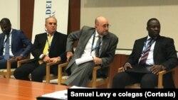 Delegação moçambicana em Houston