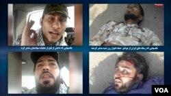 تصاویر عاملان حملۀ اهواز، پیش از حمله و بعد از حمله