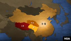 传统西藏三区