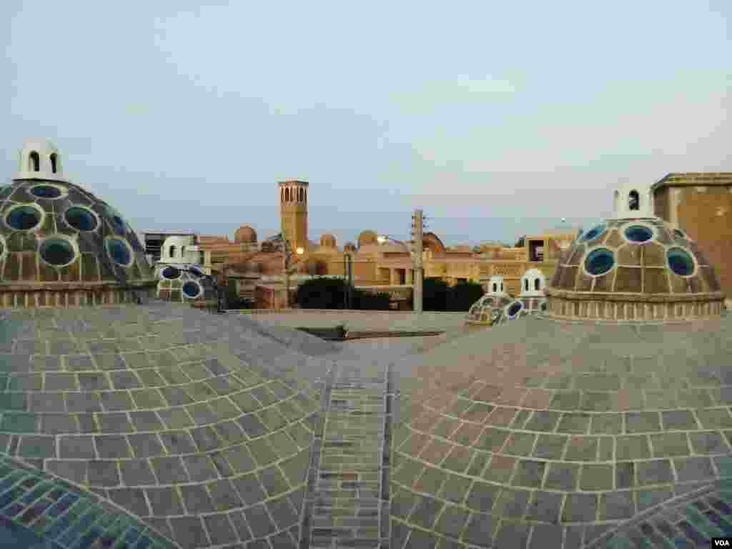 بافت قدیمی شهر کاشان عکس: احمد (ارسالی شما)