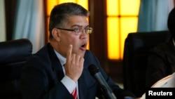 El canciller Elías Jaua dijo que las posibles sanciones de EE.UU. contra funcionarios venezolanos es un atentado a la Carta Democrática.