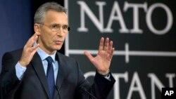 El secretario general de la OTAN, Jens Stoltenberg, Stoltenberg enfatizó que los soldados no tendrían una función de combate, sino que serían parte de la misión de entrenamiento, asesoramiento y asistencia de la organización, llamadaResolute Support.