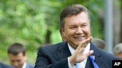 Ukraine's President Viktor Yanukovych (file photo)