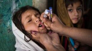 پاکستان کا پولیو کے خاتمے کا عزم