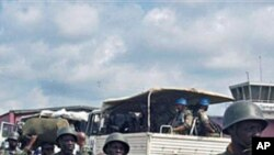 UN Mission in Democratic Republic of Congo and DRC soldiers get ready for deployment (file photo)