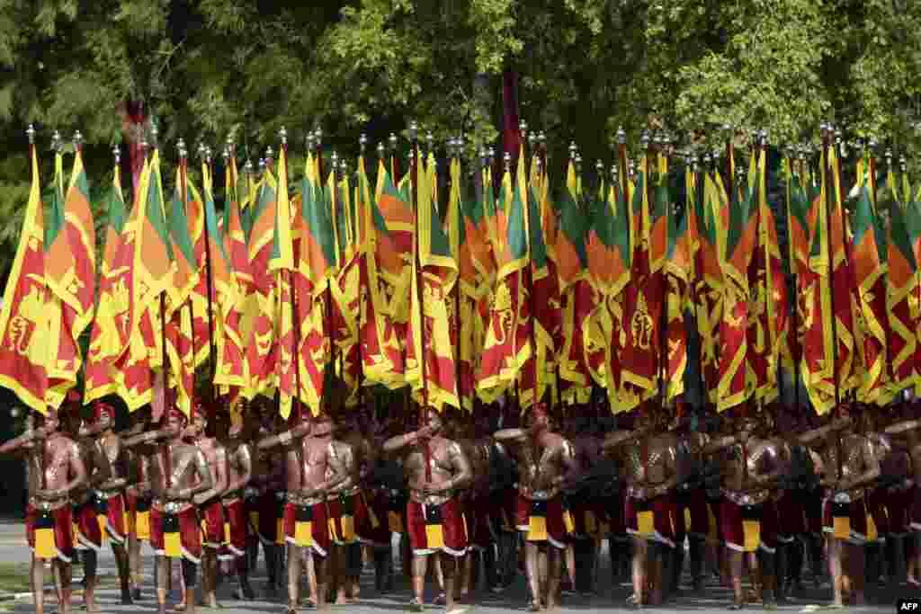 Mustaqillik kuni tantanalari. Shri-Lanka.
