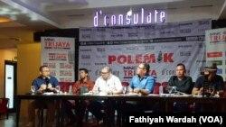 Diskusi tentang MK dan Kita di Jakarta (foto: VOA/Fathiyah Wardah)