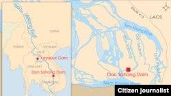 don-sahong-dam-map