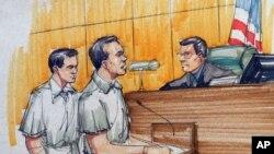 Los hermanos Flores fueron sentenciados a 14 años de prisión por narcotráfico.