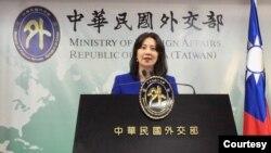台灣外交部發言人歐江安(資料照片)