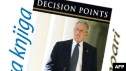 """Bìa quyển hồi ký """"Decision Points"""" của cựu Tổng thống Hoa Kỳ George W. Bush"""
