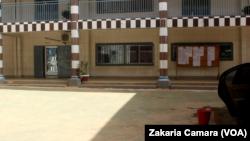 Une université privée de Conakry, en Guinée, le 24 mai 2017. (VOA/Zakaria Camara)