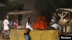 Affrontements à Yopougon entre forces de l'ordre et des habitants