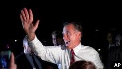 Le candidat républicain présumé à la présidentielle, Mitt Romney