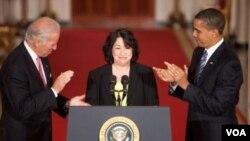 La jueza Sonia Sotomayor, de ascendencia puertorriqueña, pondrá manos a la obra a partir de mañana.