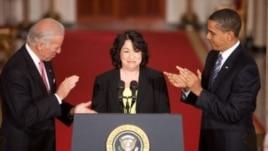 La jueza Sonia Sotomayor, de ascendencia puertorriqueña, será la encargada de juramentar al vicepresidente.