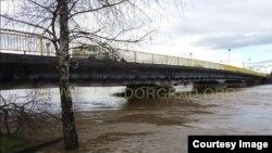 Vodostaj rijeke Sane u Prijedoru u stalnom je porastu