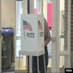 Glasačko mjesto sa jednog od ranijih glasanja u SAD