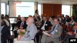 Участники конференции в университете Джорджа Вашингтона