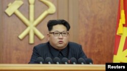 북한 김정은 국방위원회 제1위원장이 지난 1일 2016년 신년사를 육성으로 발표했다.