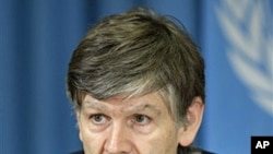 UN top representative on Human Rights for Internally Displaced Persons, Walter Kaelin (file photo)