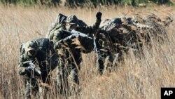 연평도 포격 도발 1주년을 맞아 실시한 한국군의 합동군사훈련