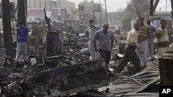 عراق: دو بم دھماکوں میں پانچ افراد ہلاک