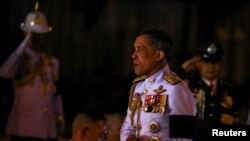 Thailand's Crown Prince Maha Vajiralongkorn at the Royal Plaza in Bangkok,Thailand, October 23, 2016