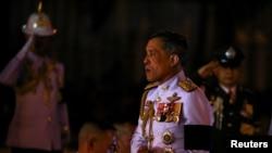 Thailand's Crown Prince Maha Vajiralongkorn at the Royal Plaza in Bangkok,Thailand, October 23, 2016