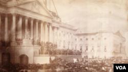 James Buchanan was inaugurated in 1857.