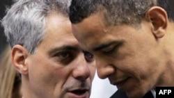 Барак Обама и Рам Эмануэл. Архивное фото.